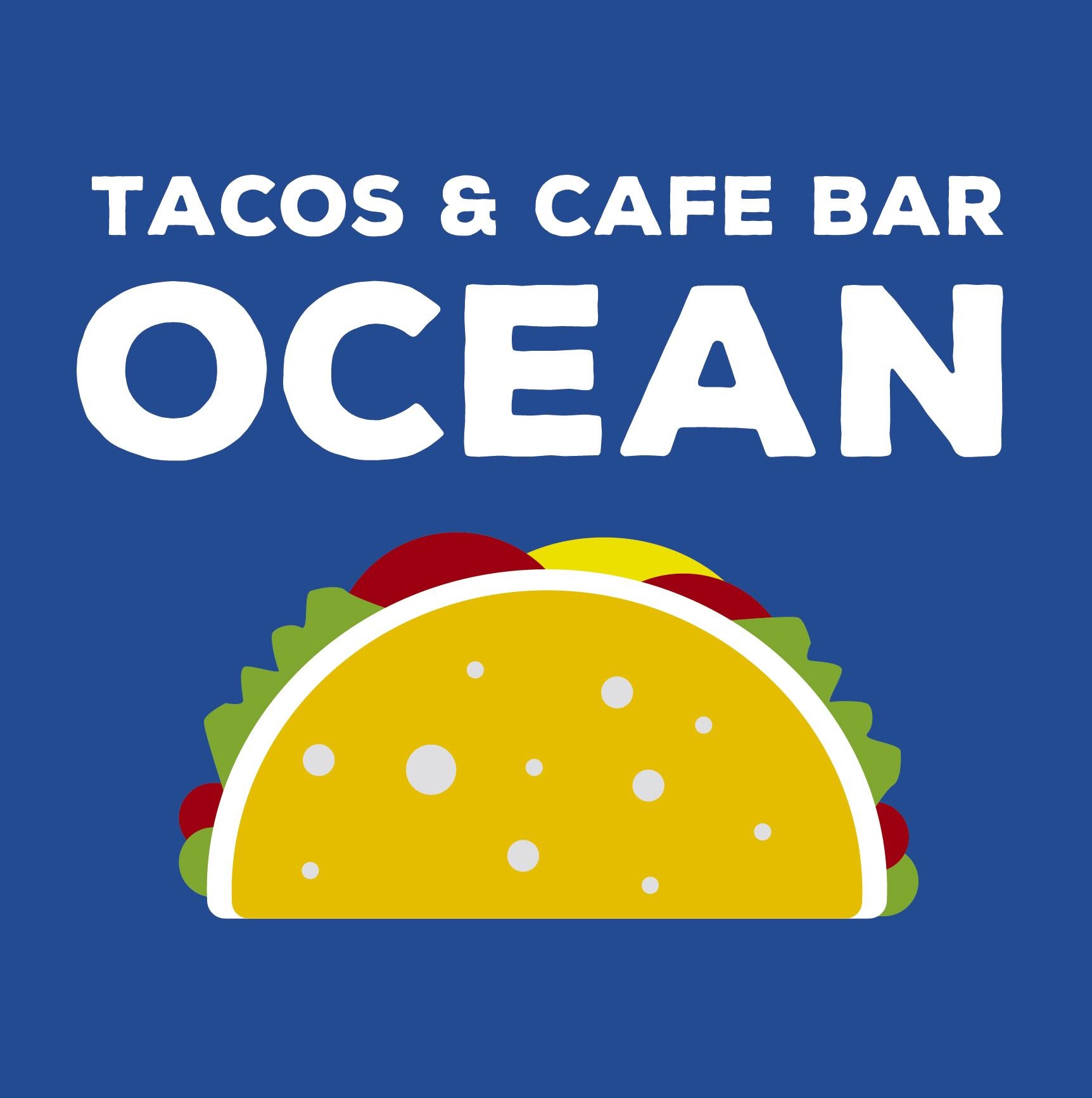 Cafe OCEAN ロゴ